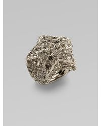 Marc By Marc Jacobs | Metallic Pavé Star Ring | Lyst