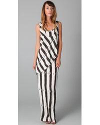 Sass & Bide | Black The Little Detail Long Jersey Dress | Lyst