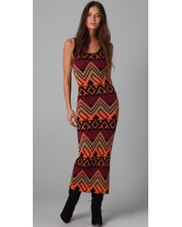 Torn By Ronny Kobo | Orange Alice Native Knit Maxi | Lyst
