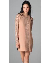 By Malene Birger | Pink Isalena Sequined Dress | Lyst