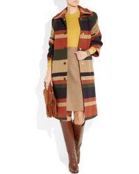 J.Crew   Beige Wool Pencil Skirt   Lyst
