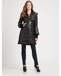Mackage | Black Felicia Hooded Puffer Coat | Lyst