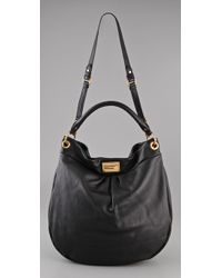 Marc By Marc Jacobs - Black Classic Q Huge Hillier Hobo - Lyst