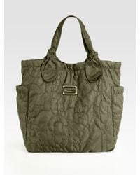 Marc By Marc Jacobs | Green Pretty Nylon Medium Tate Tote Bag | Lyst