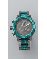 Nixon | Metallic 40 20 Chrono Watch | Lyst