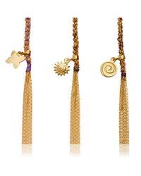 Carolina Bucci - Blue Money Charm Lucky Bracelet - Lyst