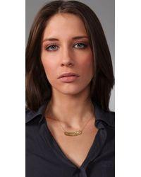 Gorjana - Metallic Tusk Pendant Necklace - Lyst