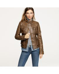 J.Crew | Brown Belstaff® Brad Jacket | Lyst