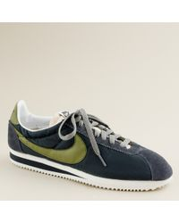 J.Crew | Gray Nike® For J.crew Vintage Collection Cortez® Sneakers for Men | Lyst