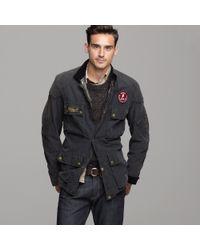 J.Crew | Black Belstaff® Tourmaster Trophy Replica Jacket for Men | Lyst