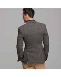 J.Crew - Brown Harris Tweed Sportcoat in Ludlow Fit for Men - Lyst
