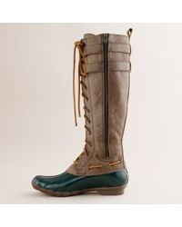 J.Crew | Green Sperry Top-sider® Albatross Boots | Lyst
