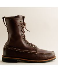 J.Crew | Brown Russell Moccasin™ Co. Imperial Boots for Men | Lyst