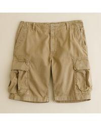 J.Crew | Natural Stanton Cargo Short for Men | Lyst