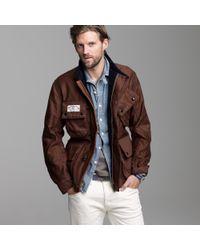 J.Crew | Brown Mister Freedom® Mulholland Master Jacket for Men | Lyst