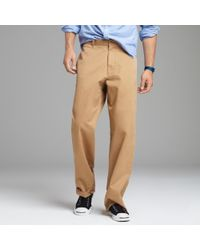 J.Crew | Natural Essential Chino in Giant Fit for Men | Lyst