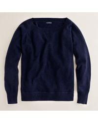 J.Crew | Blue Cashmere Isabel Sweatshirt | Lyst