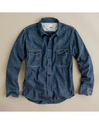 J.Crew | Blue Kato` / Aaa Chambray Shirt for Men | Lyst