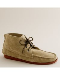 J.Crew | Natural Mens Quoddy® Suede Chukka Boots for Men | Lyst