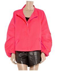 Jil Sander - Pink Twill Utility Jacket - Lyst