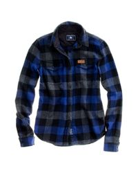 Madewell - Blue Penfield Chatham Buffalo Plaid Flannel - Lyst