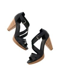 Madewell | Black The Crosswalk Sandal | Lyst