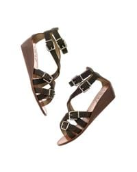 Madewell - Black The Whistlestop Sandal - Lyst