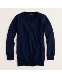 J.Crew | Blue Merino Wool Tippi Sweater | Lyst