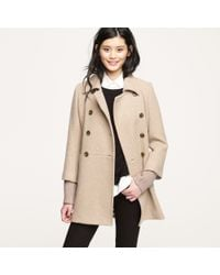 J.Crew | Natural Academy Coat | Lyst