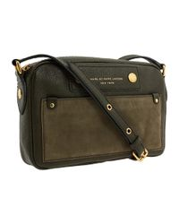 Marc By Marc Jacobs | Green Preppy Leather Camera Bag | Lyst