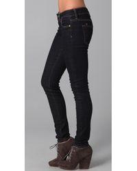 PRPS - Blue Skinny Jeans - Lyst