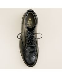 J.Crew | Black Limited-edition Alden® For J.crew Cordovan Wing Tip Boots for Men | Lyst