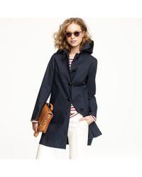 J.Crew - Blue Mackintosh® Hooded Traig Jacket - Lyst
