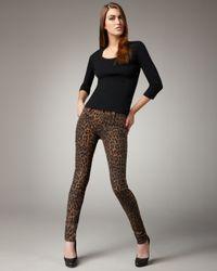 Joe's Jeans | Multicolor Chelsea Leopard-print Jeans | Lyst