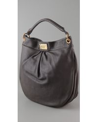 Marc By Marc Jacobs | Brown Classic Q Huge Hillier Hobo | Lyst
