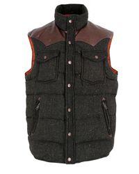 Penfield | Stapleton Vest Green Tweed Gilet for Men | Lyst