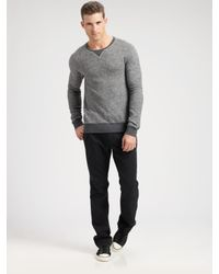Converse | Gray Reverse Sweatshirt for Men | Lyst