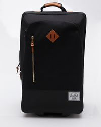 Herschel Supply Co. | The Parcel Luggage in Black | Lyst