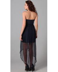 Thayer - Blue Long Fiesta Dress - Lyst