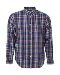 Acne Studios - Blue Check Shirt for Men - Lyst