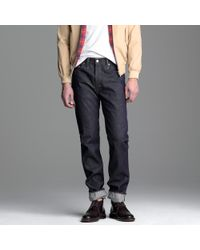 J.Crew | Blue Levis® Vintage Clothing 501z® Rigid for Men | Lyst