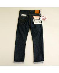 J.Crew | Blue Levis® Vintage Clothing 501z® Rigid for Men | Lyst