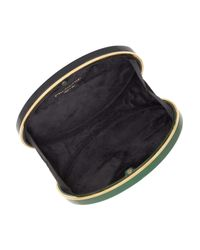 Stella McCartney - Green Oval Two-tone Plexiglass Clutch - Lyst