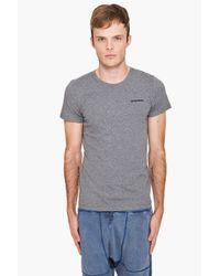 DIESEL - Gray Umtee-randal T-shirt for Men - Lyst