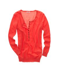Madewell | Red Hightide Henley | Lyst