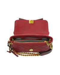 Marc By Marc Jacobs - Red The New Single Quilted Leather Shoulder Bag - Lyst