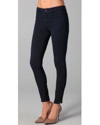 J Brand | Blue Major Ankle Skinny Pants | Lyst