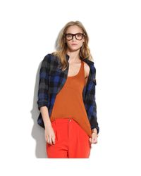 Madewell | Brown Perfect Racerback Tank | Lyst