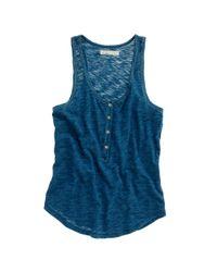 Madewell | Blue Indigo Ink Tank | Lyst