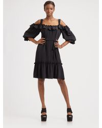 Nanette Lepore | Gray Spotlight Dress | Lyst